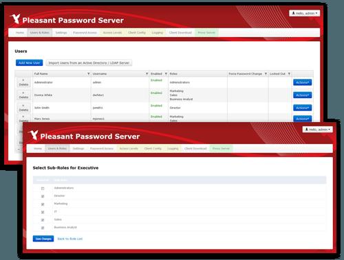 Passwort Manager Benutzer