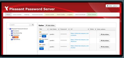 Passwort Manager Webclient