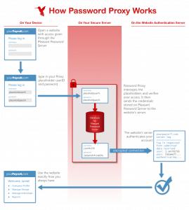 Passwort Proxy Infografik